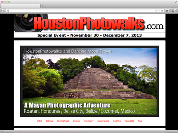 HoustonPhotowalks - Mayan Temple Tours